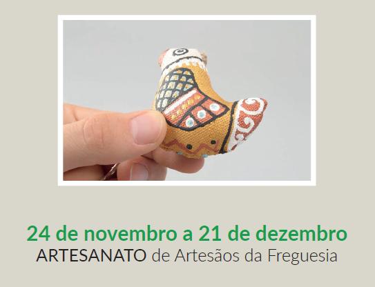 Inaugura este sábado dia 24 de novembro na Junta de Freguesia de Fanhões a Exposição de Artesanato no âmbito das Comemorações do 443º Aniversário da Freguesia!