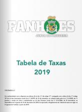 Tabelas de Taxas 2019 imagem