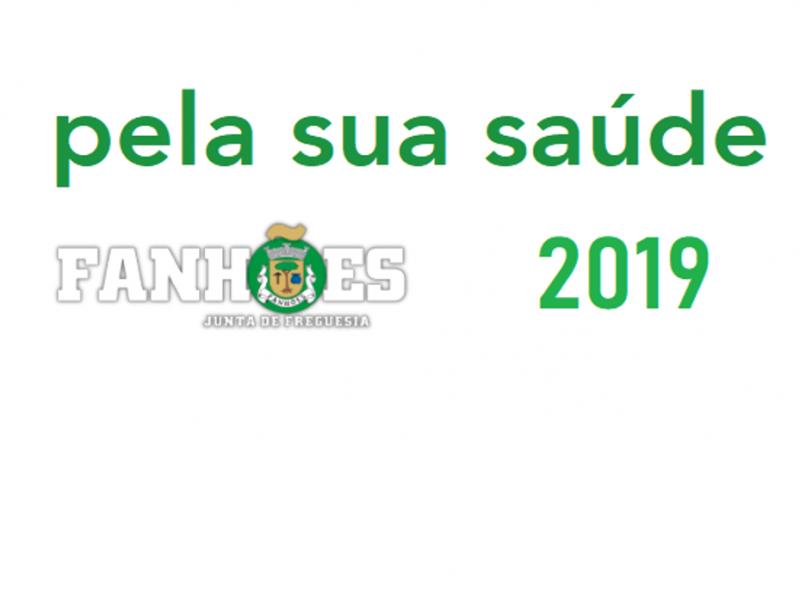 """Calendário de janeiro e fevereiro de 2019 """"pela sua saúde""""  –  consulte aqui as datas e os locais"""