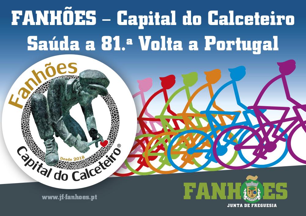 FANHÕES – Capital do Calceteiro Saúda a 81ª Volta a Portugal!