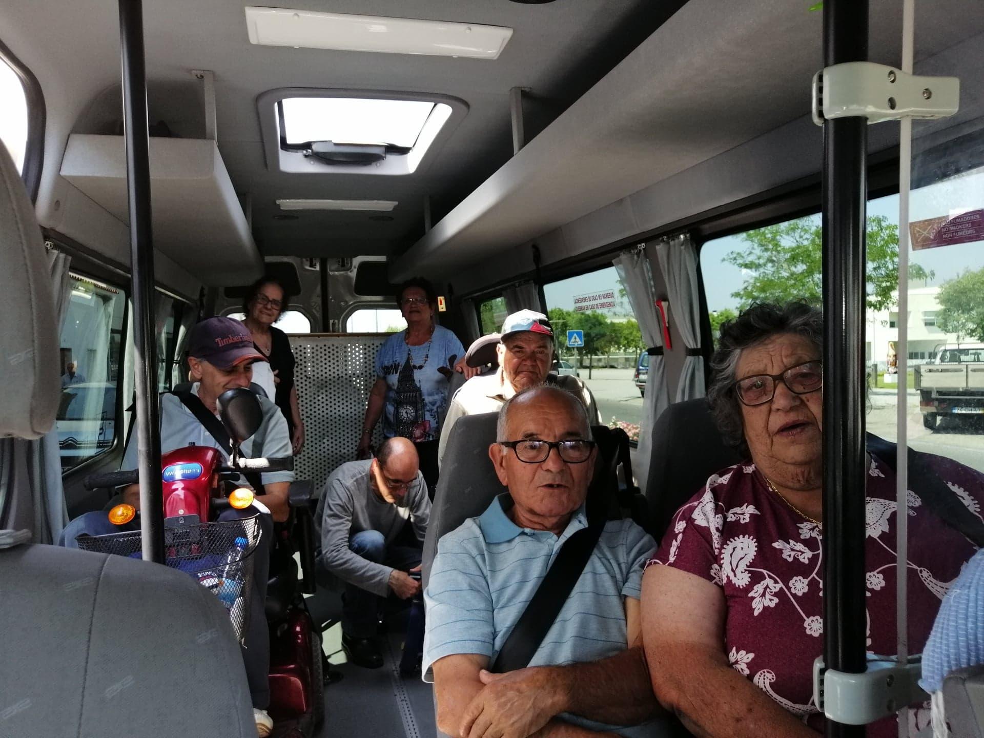JUNTA DE FREGUESIA DE FANHÕES – PASSEIO PARA PESSOAS MOBILIDADE REDUZIDA