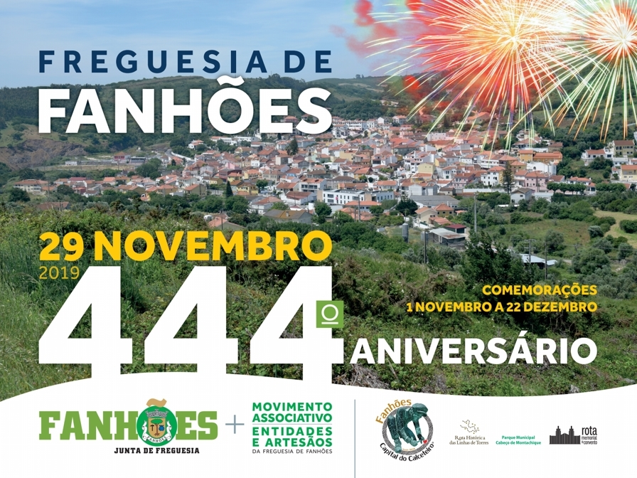 444º ANIVERSÁRIO DA FREGUESIA DE FANHÕES – UMA FREGUESIA COM MAIS DE 4 SÉCULOS DE HISTÓRIA