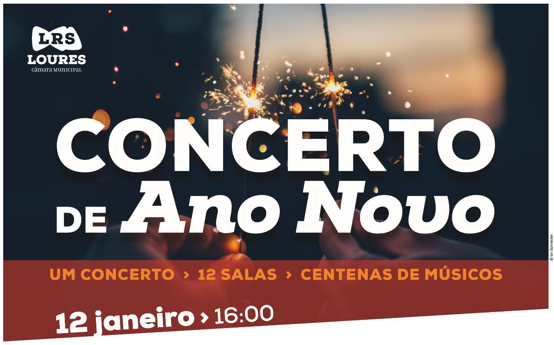 Concerto de Ano Novo – A Freguesia de Fanhões dá as boas vindas ao Ano Novo com 2 magníficos Concertos em Casainhos pela Banda da Sociedade Recreativa de Casainhos e em Fanhões pela Banda da Associação Humanitária de Bombeiros Voluntários de Fanhões!