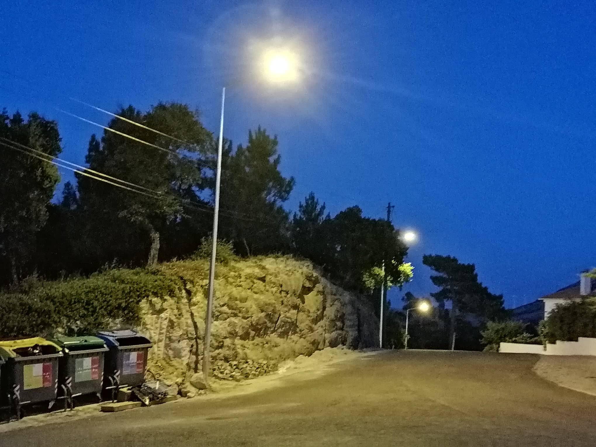RIBAS DE CIMA -(rc) Iluminação pública da Rua da Esperança – Zona Ecoponto- Rua José Marques Corigo no cruzamento Rua Américo Francisco, melhorando a segurança e o bem-estar da população!