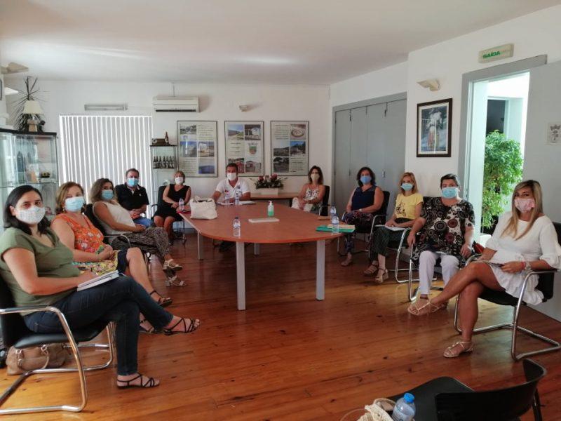 Reunião com Núcleo Escolar – Escolas EB1/JI de Fanhões, Casainhos e Associação de País – Preparação ano lectivo 2020/2021 no contexto Covid-19