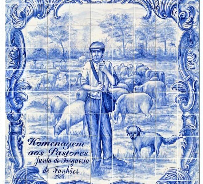 RIBAS DE CIMA -(rc) Homenagem aos Pastores – Colocação de um painel de azulejos de pintura manual valorizando a profissão, a pastorícia e toda a ruralidade da Freguesia!