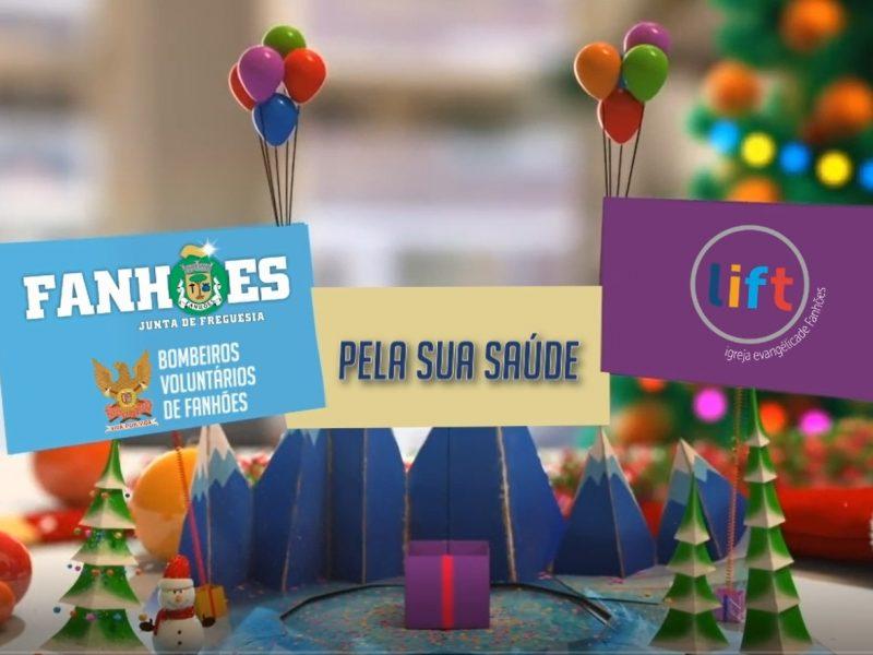 """Voluntários e Entidades do projeto """"Pela Sua Saúde"""" desejam Boas Festas a toda a população!"""