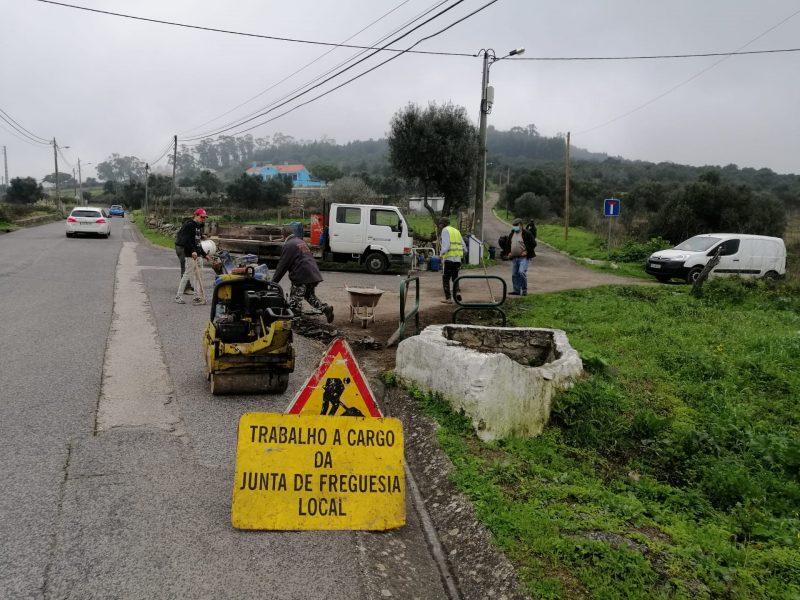 FREGUESIA DE FANHÕES – (f) Realizada uma intervenção corretiva de diversas estradas e ruas aumentando a segurança de quem aqui circula!