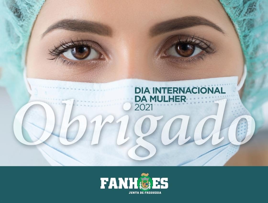 A Freguesia de Fanhões assinala o Dia Internacional da Mulher com uma imagem que vale por mil palavras!
