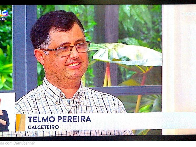 FANHÕES – CAPITAL DO CALCETEIRO – Representada pelo Calceteiro Telmo Pereira que dignificou a Arte da Calçada Portuguesa e todos os Calceteiros da Freguesia de Fanhões e do Mundo!