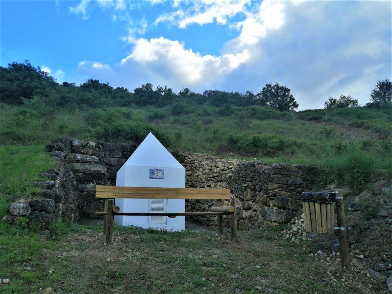 RIBAS DE BAIXO -(rb) Reabilitação do Poço da Mina, mais um lugar ao dispor da população e onde pode descansar das suas caminhadas!