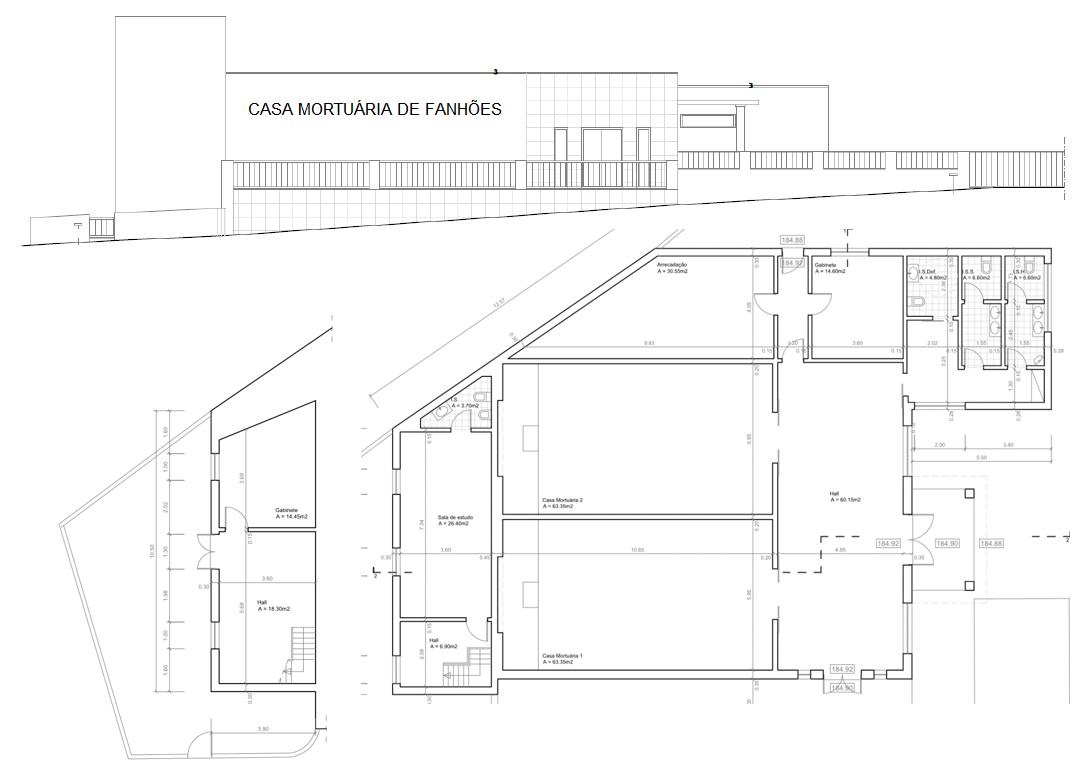 Casa Mortuária de Fanhões – Tiveram início as obras para a construção da Casa Mortuária de Fanhões, um equipamento aguardado há muitos anos pela população!