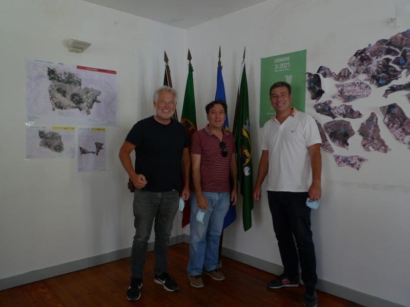 Fanhões – Capital do Calceteiro – Recebeu o Professor e Antropólogo Doug Bailey da Universidade de São Francisco – Califórnia que trabalha num estudo sobre a Arte dos Calceteiros!