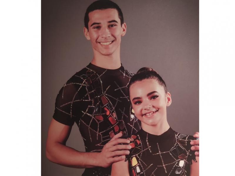 Ariana Carvalho jovem da freguesia e atleta GDL conquista o 3º lugar no Campeonato Nacional de Acrobática 1º Divisão, escalão Júnior Elite. Parabéns e continuação de muito Sucesso!