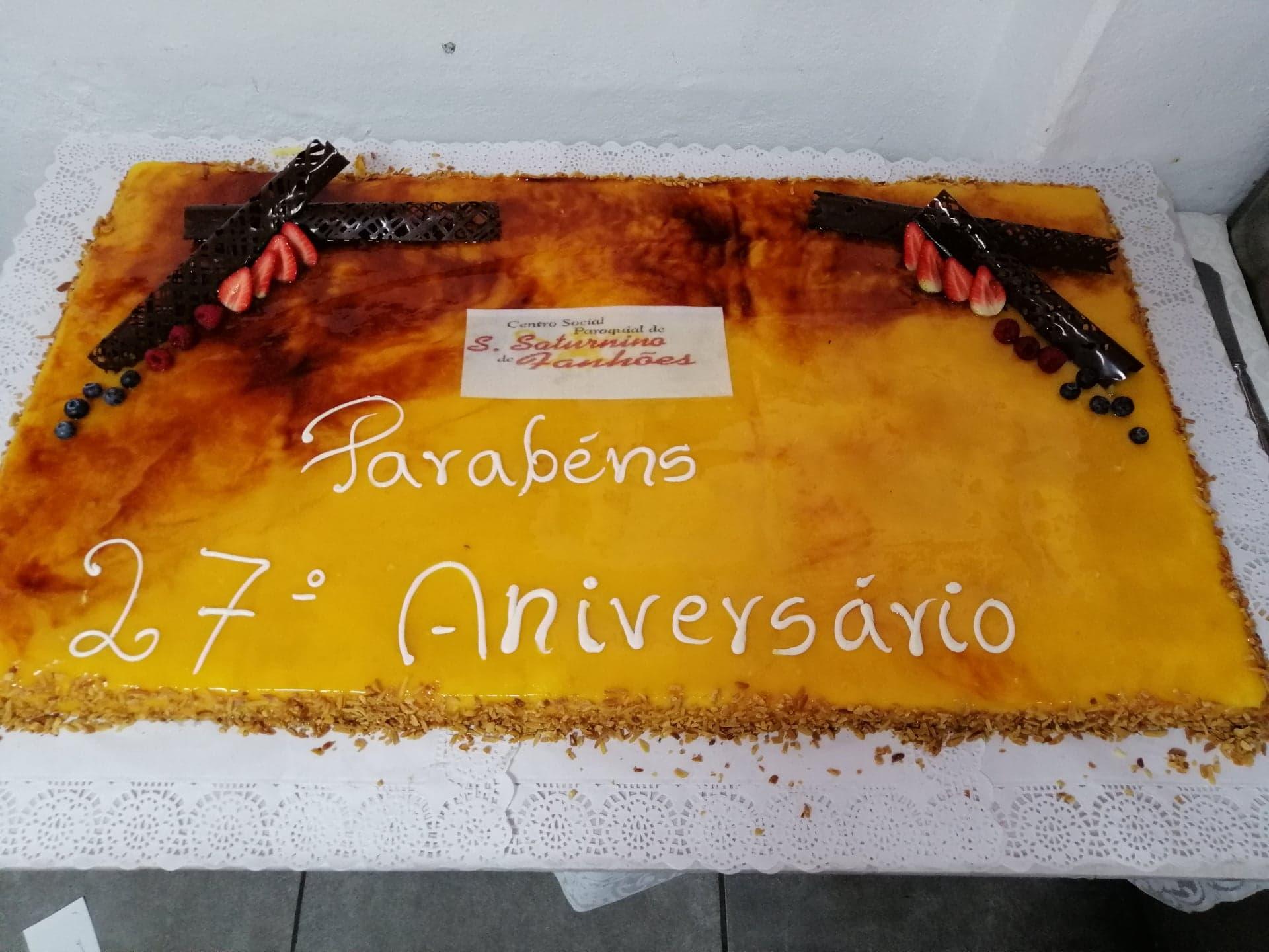 Centro Social e Paroquial de São Saturnino de Fanhões – 27º Aniversário – Centro de Dia!