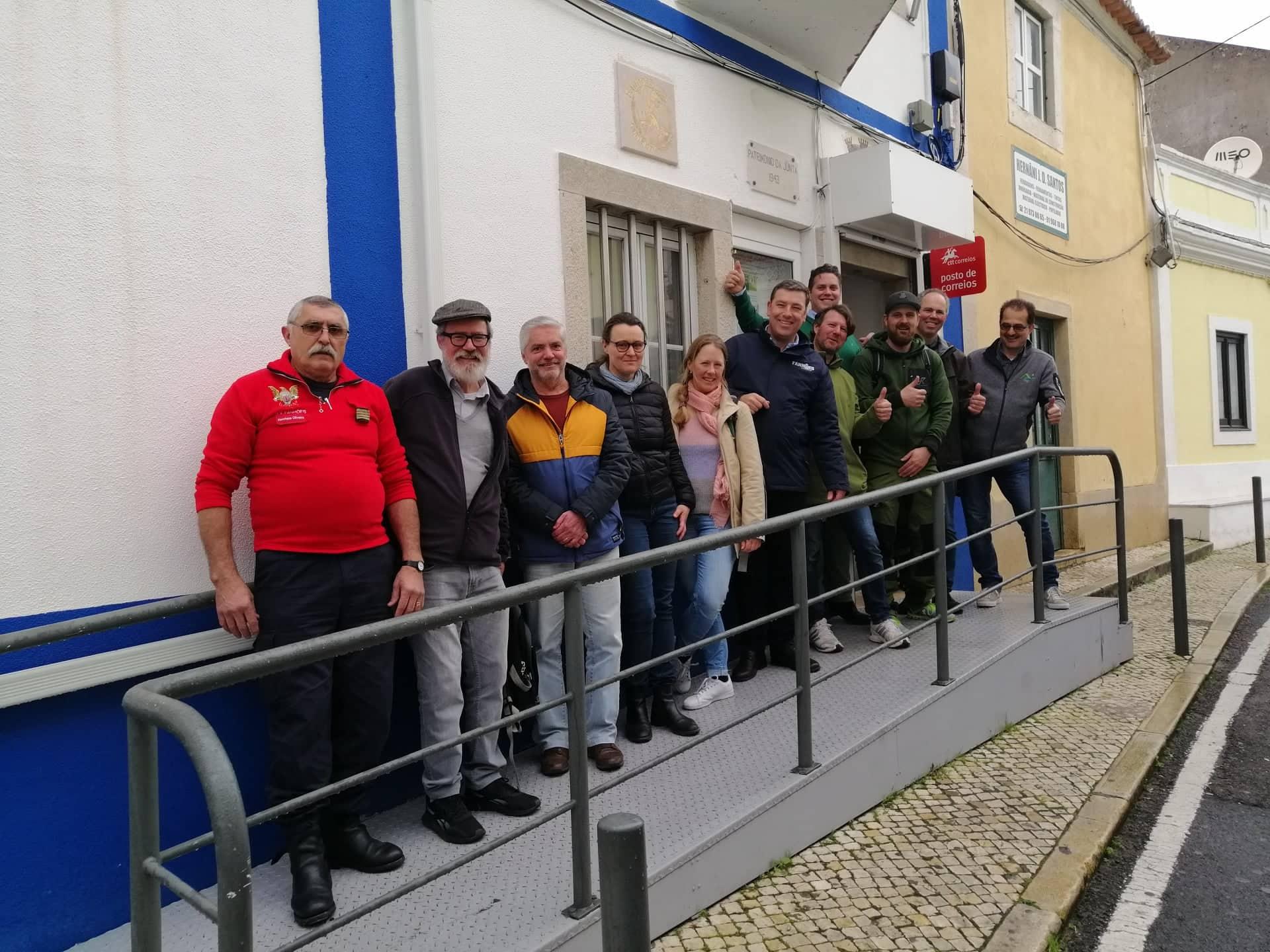 A Capital do Calceteiro recebeu visita do 3º Grupo da empresa alemã Knittel – Gartengestalter numa visita aos trabalhos artísticos dos nossos Mestres Calceteiros!