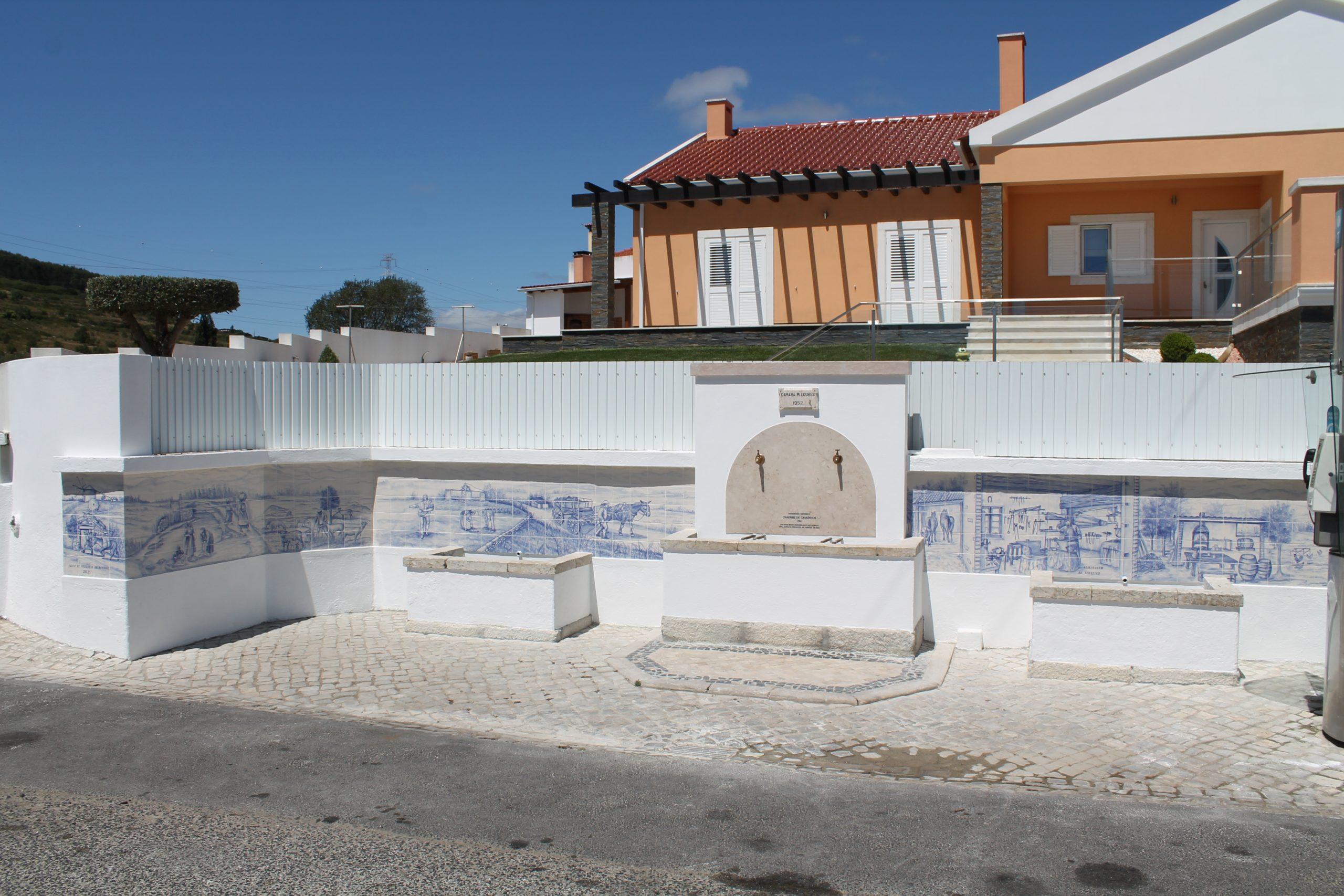 Casaínhos -(c) Chafariz de Casaínhos – Remodelação geral, dignificação e embelezamento deste Património Histórico.