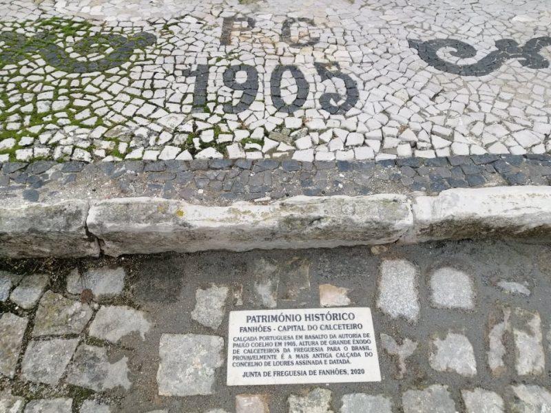A Calçada Portuguesa é oficialmente Património Cultural Imaterial da Lista de Inventário Nacional. Parabéns Calceteiros do Presente e do Passado!